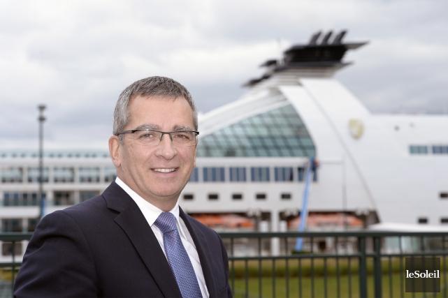 Mario Girard, président-directeur général de l'Administration portuaire de... (PHOTO JEAN-MARIE VILLENEUVE,  LE SOLEIL)
