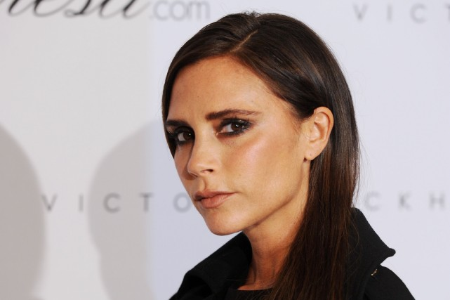 Victoria Beckham... (Photo TOBIAS HASE, AFP)