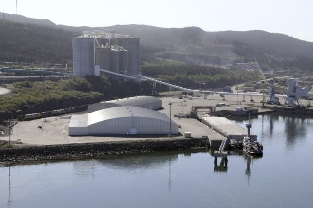 Le terminal La Relance du Port de Sept-Îles... (PHOTO FOURNIE PAAR LE PORT DE SEPT-ILES)