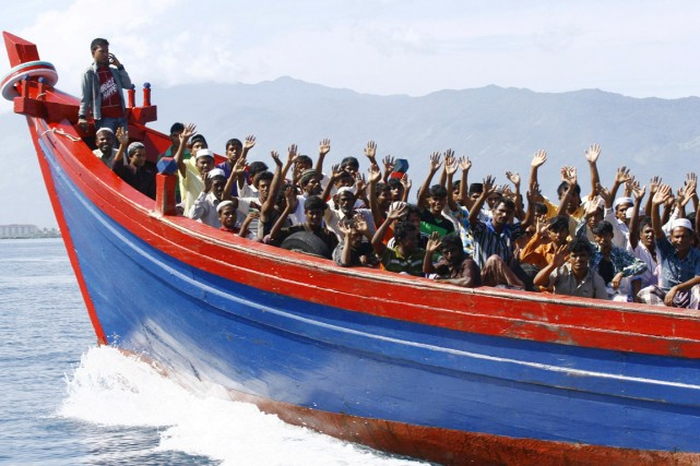 Selon les données de l'Arakan Project, depuis juin... (PHOTO JUNAIDI HANAFIAH, ARCHIVES REUTERS)