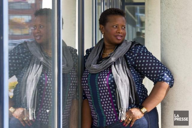 Sandra Ngola, 30 ans, est adjointe administrative à... (PHOTO ALAIN ROBERGE, LA PRESSE)