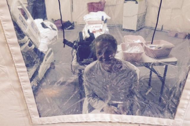 Kaci Hickox avait estimé avoir été traitée comme... (PHOTO STEVE HYMAN, REUTERS)
