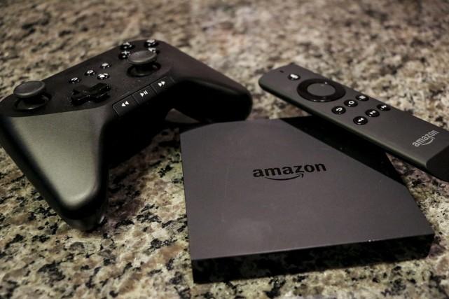 Le nouveau produit élargit la gamme d'Amazon, qui... (PHOTO RON HARRIS, ARCHIVES AP)