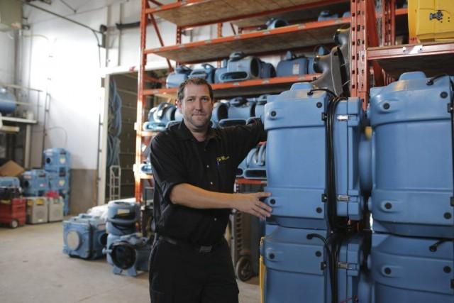 Olivier Dussault est chargé de projets en restauration... (PHOTO MARTIN CHAMBERLAND, LA PRESSE)