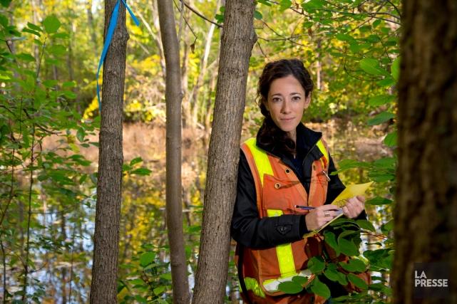Marie Lafontaineest consultante en environnement.... (PHOTO ALAIN ROBERGE, LA PRESSE)