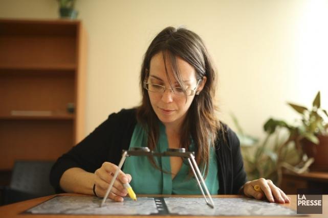 Julie Tremblay est biologiste et responsable de la... (PHOTO MARTIN CHAMBERLAND, LA PRESSE)