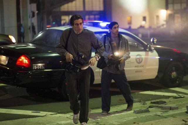 Dans Nightcrawler, Jake Gyllenhaal incarne Lou, un cameraman... (Photo: fournie par le FNC)