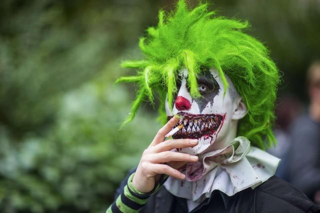 La multiplication de faux clowns qui provoque un début de psychose en France a... (PHOTO ARCHIVES REUTERS)