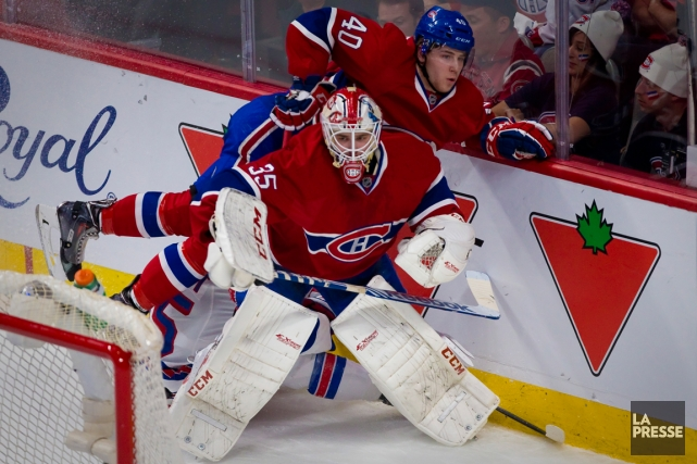 Dustin Tokarski et Nathan Beaulieu... (Photo André Pichette, archives La Presse)