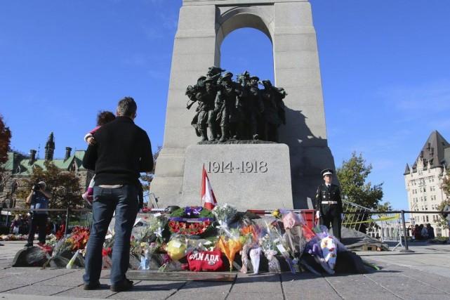 cenotaphe OttawaPATRICK WOODBURY, LeDroit... (Patrick Woobury, Archives LeDroit)