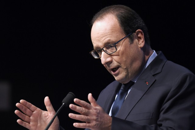 François Hollande (photo) sera le premier chef d'État... (Photo AFP)
