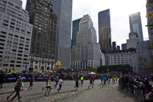 Les organisateurs du marathon de New York ont déclaré qu'aucun coureur des... (Photo: Reuters)