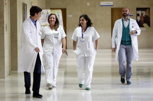 Les docteurs de l'hôpital Carlos III peuvent désormais... (Photo: Reuters)