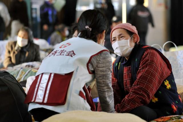 Le Japon a été saisi dans la nuit de lundi à mardi par la peur de voir arriver... (Archives AP)
