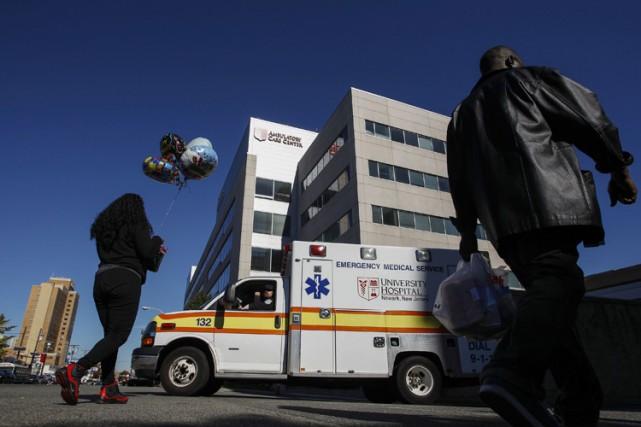Une infirmière américaine de retour de Sierra Leone,... (Photo: Reuters)