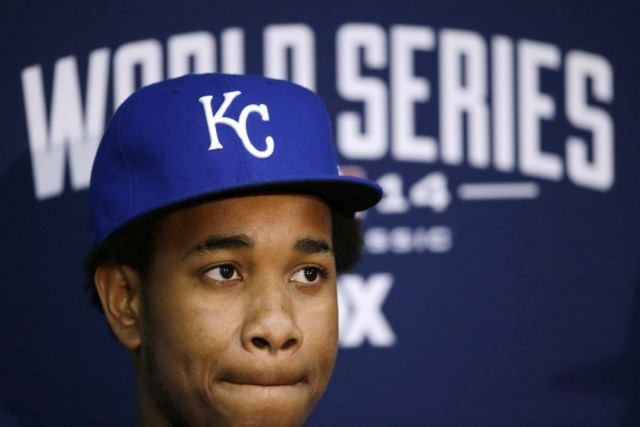 Yordano Ventura... (Photo: AP)