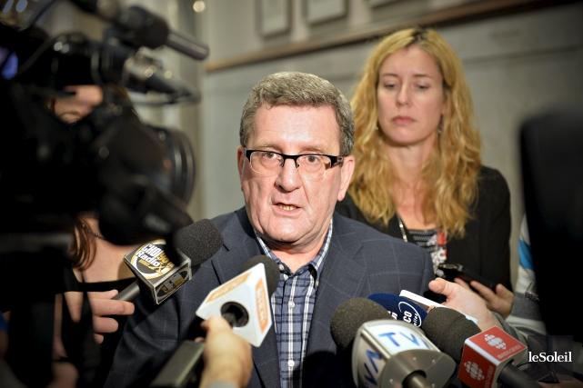 Le maire de Québec Régis Labeaume a commenté... (Photothèque Le Soleil, Pascal Ratthé)