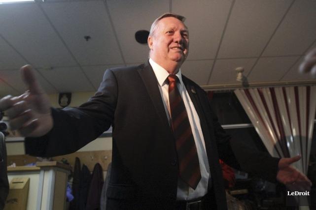 Après avoir recueilli 34,15% des votes en 2006... (Etienne Ranger, LeDroit)
