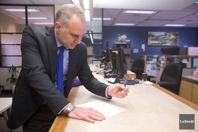 Tobi Nussbaum a obtenu 47% des suffrages.... (Archives, LeDroit)