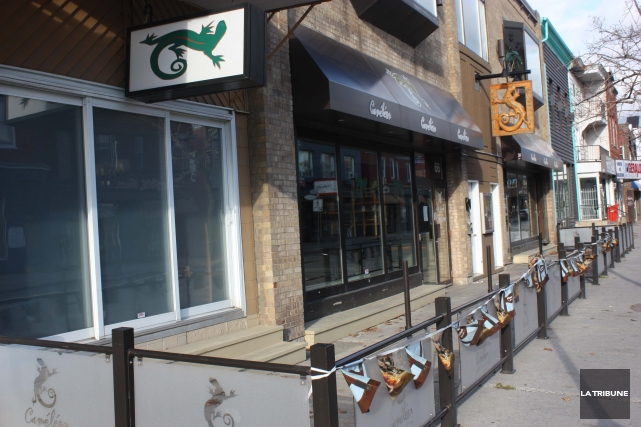 La Régie des alcools, des courses et des jeux a forcé la fermeture du pub le... (La Tribune, Yanick Poisson)