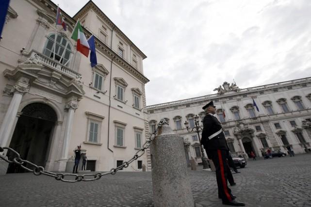 Selon la presse italienne, c'est la première fois... (Photo Gregorio Borgia, AP)