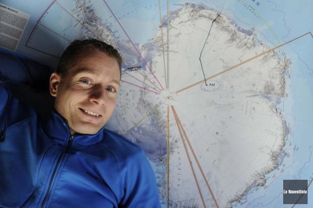 Pour la première fois de l'expédition, ma confiance a été atteinte. (Photo: Sylvain Mayer, Le Nouvelliste)