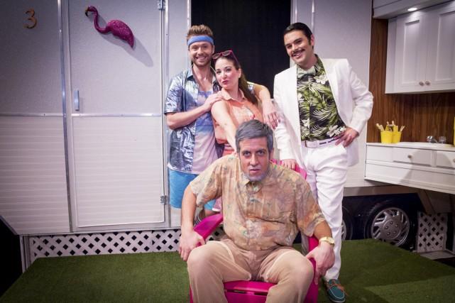Les quatre jeunes interprètes de Don Pasquale: le... (Photo: fournie par la production)