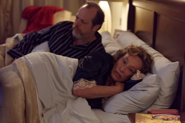 Guy Nadon et Marie Tifo dans O'.... (Photo: fournie par TVA)