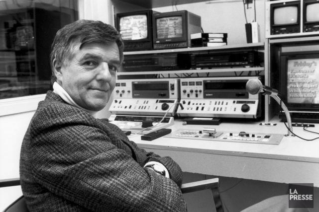 Pierre Dufault a longtemps été la voix des... (Archives, La Presse)