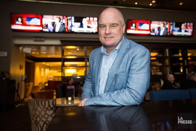 Scott Moore, président de Sportsnet, constate que la... (Photo Olivier PontBriand, La Presse)