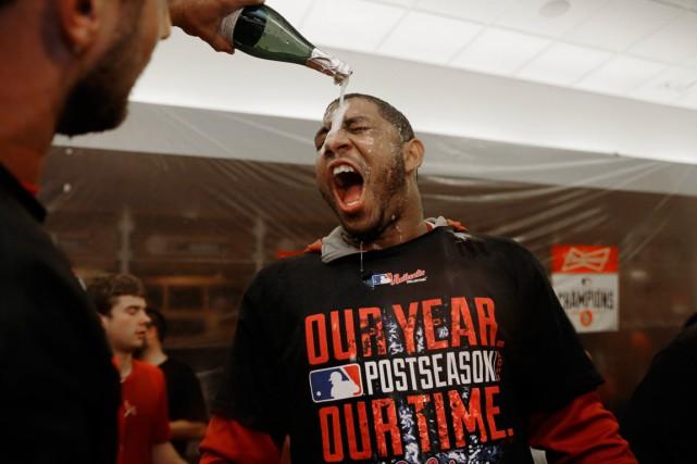 Oscar Taveras était une future étoile du baseball... (Photo Jeff Roberson, AP)