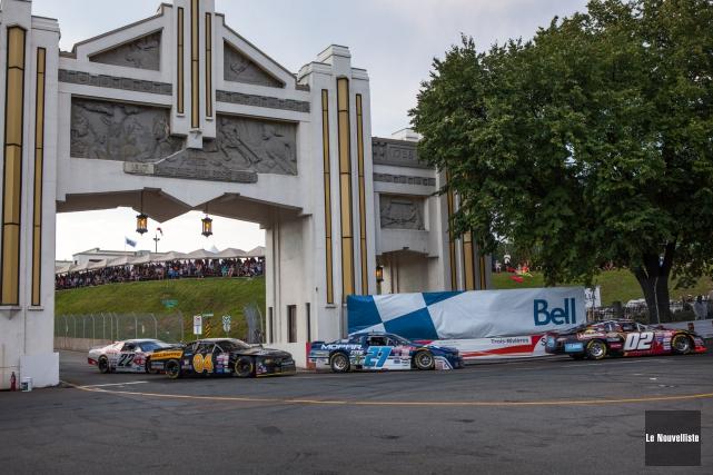 La série NASCAR Canadian Tire sera de retour... (Photo: Olivier Croteau, Le Nouvelliste)