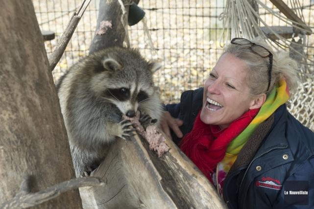 Spécialiste en comportement animal, Jacinthe Bouchard a fait... (Photo: Stéphane Lessard, Le Nouvelliste)