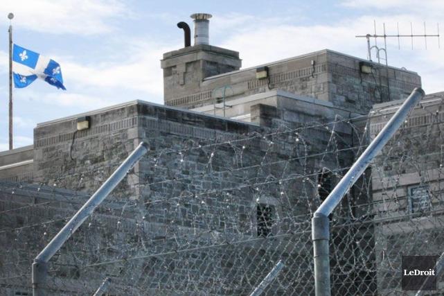 Un détenu de la prison de Gatineau a été transporté à l'hôpital après une... (Étienne Ranger, Archives LeDroit)