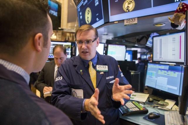 «Les investisseurs new-yorkais se sont réveillés du bon... (PHOTO LUCAS JACKSON, REUTERS)
