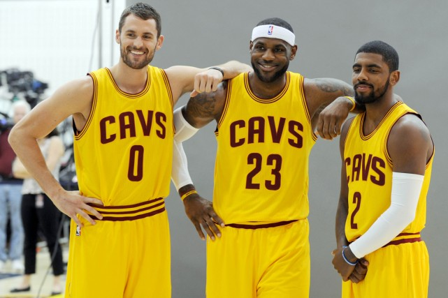En quittant Miami pour Cleveland, LeBron James (au... (Photo Ken Blaze, USA Today Sports)
