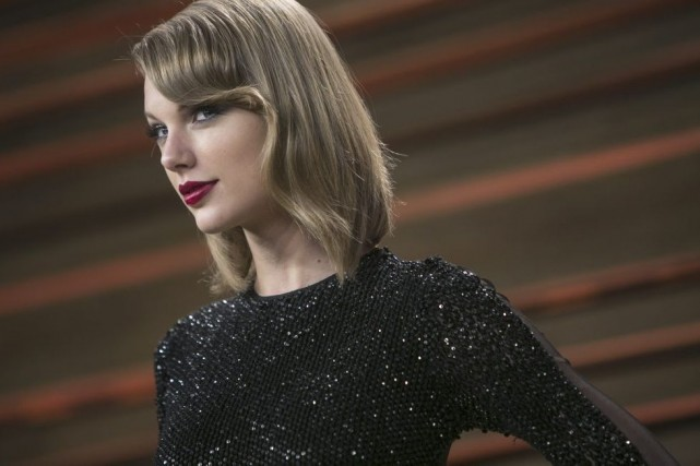 Taylor Swift... (Photo: archives AFP)