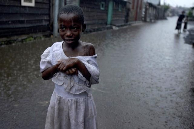 «Plus de 700 maisons, une école et une... (Photo T.J. KIRKPATRICK, Archives AP)