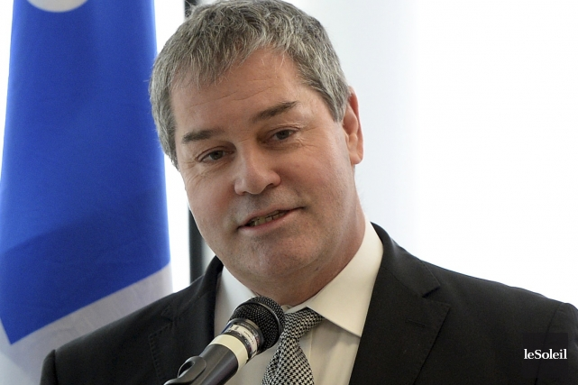Le ministre de l'Éducation Yves Bolduc réagissait aux... (Le Soleil, Andréanne Lemire)