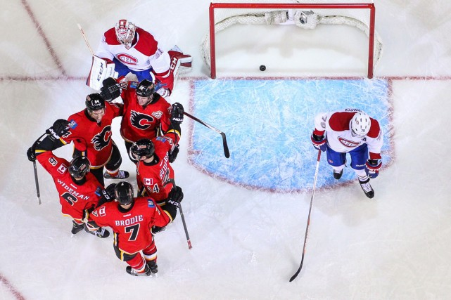 Le Canadien n'a pas gagné à Calgary depuis... (Photo Sergei Belski, archives USA Today Sports)