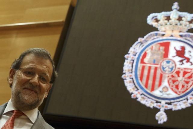 Le premier ministre espagnol Mariano Rajoy... (PHOTO SERGIO PEREZ, REUTERS)