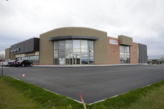 Héma-Québec installerait son futur centre de prélèvement sanguin... ((Photo Jeannot Lévesque))