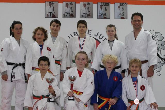 Les judokas ont bien fait récemment à la... (Photo courtoisie)