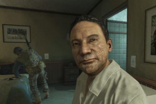 Call of Duty avaitutilisé l'image de l'ex-dictateurdéchu du... (Photo Activision Blizzard, Archives AP)