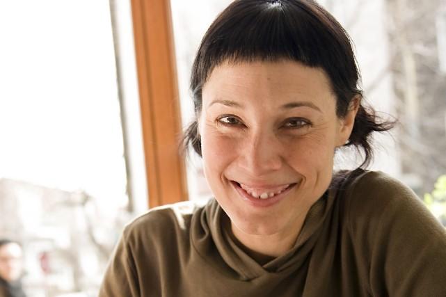 L'auteure Annie Groovie... (Photo Isabelle Clément)