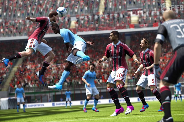 Electronic Arts, qui a notamment des licences pour... (Photo Electronic Arts, FIFA Soccer 13)