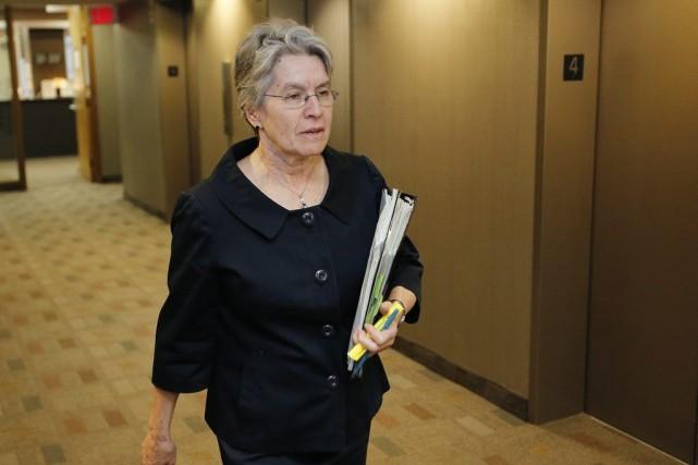 Sheila Block, qui représente la juge en chef... (Photo PC)