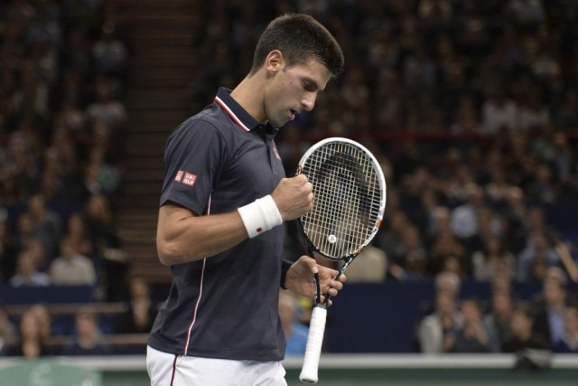 Novak Djokovic... (MIGUEL MEDINA)