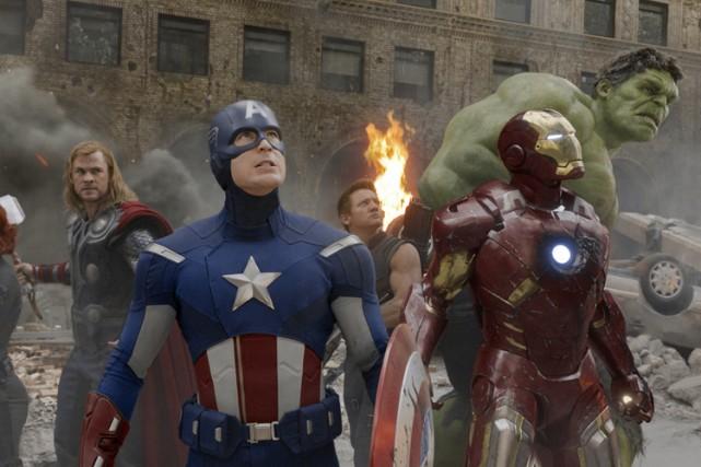 Marvel prépare notamment un nouvelAvengers, film aux recettes... (Photo: Reuters)