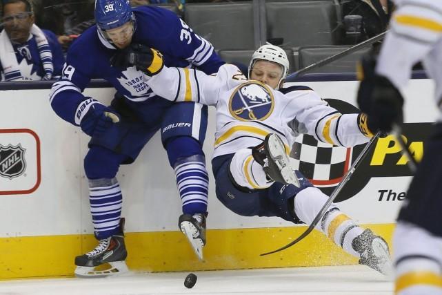 Les Maple Leafs de Toronto ont égalé un record d'équipe pour le moins de tirs... (Photo: Reuters)